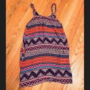 H&M Aztec Print Dress with Pockets Size 6